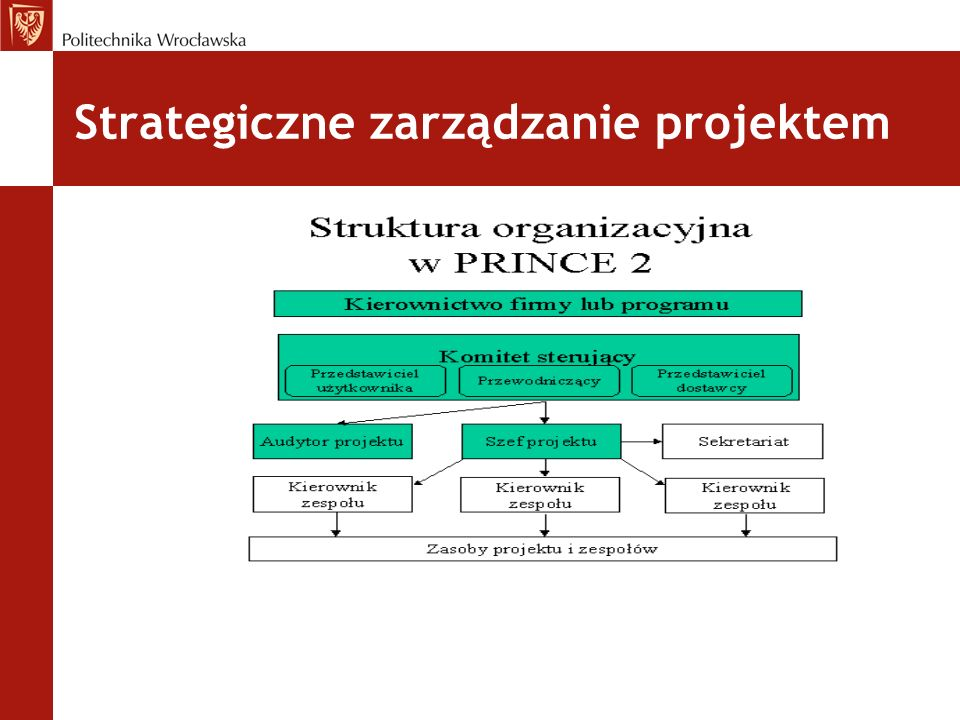 Strategiczne zarządzanie projektem