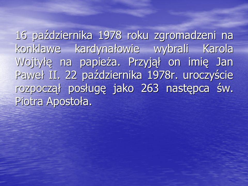 Jan Paweł II Karol Wojtyła urodził się 18 maja 1920 w Wadowicach. W wieku 9 lat stracił matkę Emilię, a kiedy był w gimnazjum, w 1932 roku, zmarł Jego