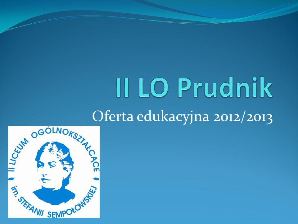 Oferta edukacyjna 2012/2013