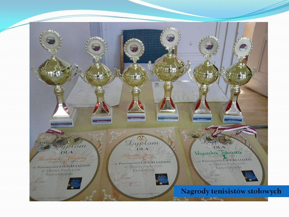 Nagrody tenisistów stołowych