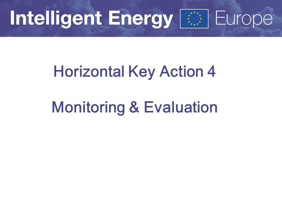Horizontal Key Action 4 Monitoring & Evaluation