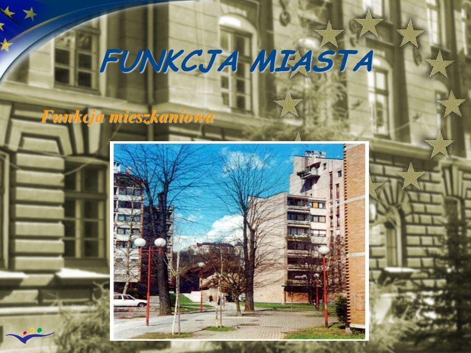 FUNKCJA MIASTA Funkcja mieszkaniowa