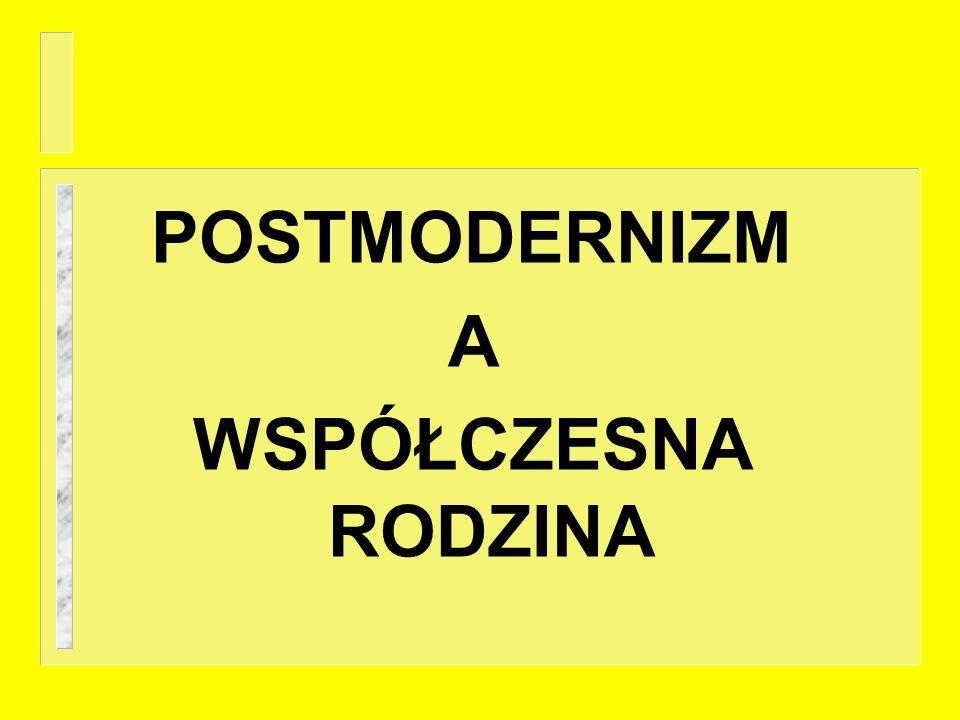 Jestem postmodernistą i dobrze mi z tym.