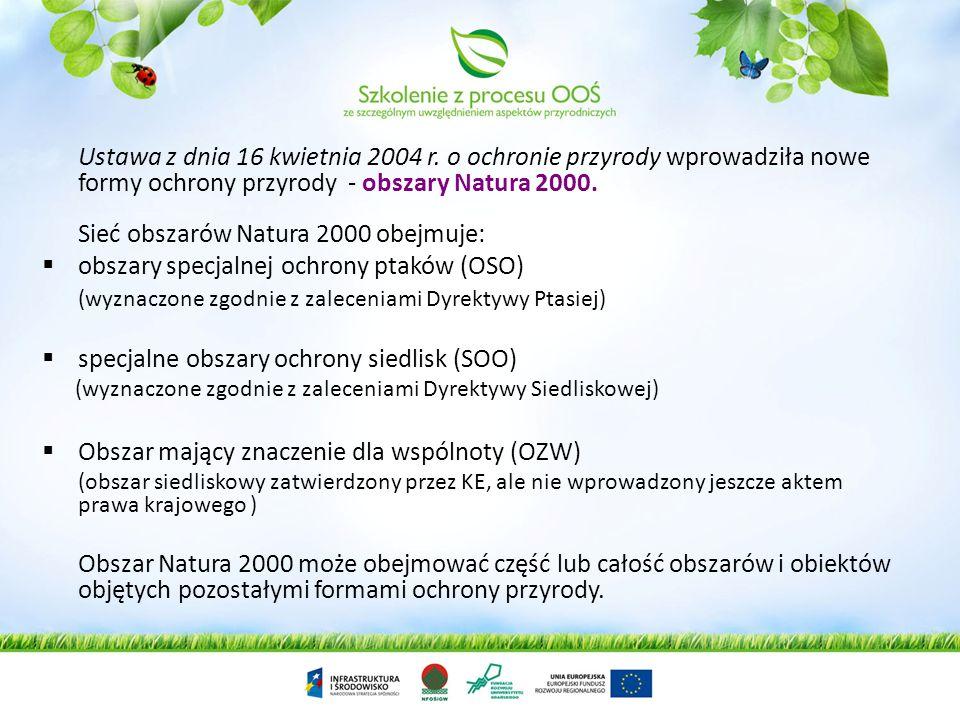 Zgodnie z art. 3 Dyrektywy Siedliskowej: Zostanie utworzona spójna Europejska Sieć Ekologiczna specjalnych obszarów ochrony, pod nazwą Natura 2000. Ka