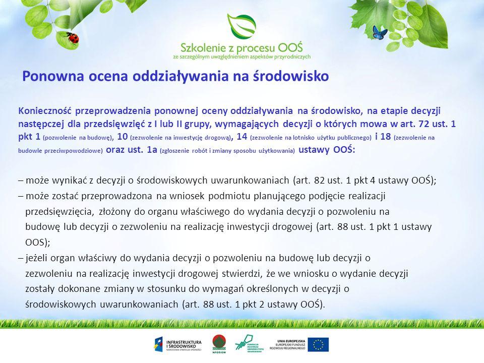 Wniosek o wydanie dowolnej decyzji administracyjnej W przypadku identyfikacji możliwości oddziaływania na obszary Natura 2000 organ wydaje postanowien