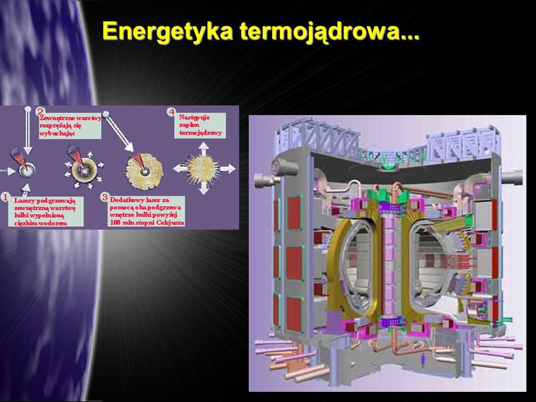 Energetyka termojądrowa...