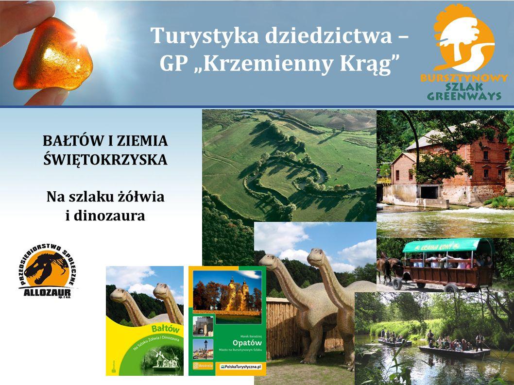 Turystyka dziedzictwa – GP Krzemienny Krąg BAŁTÓW I ZIEMIA ŚWIĘTOKRZYSKA Na szlaku żółwia i dinozaura