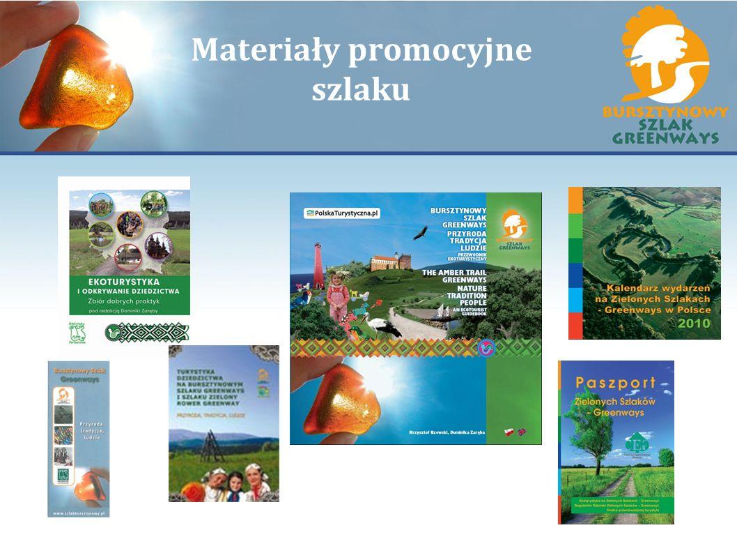 Materiały promocyjne szlaku