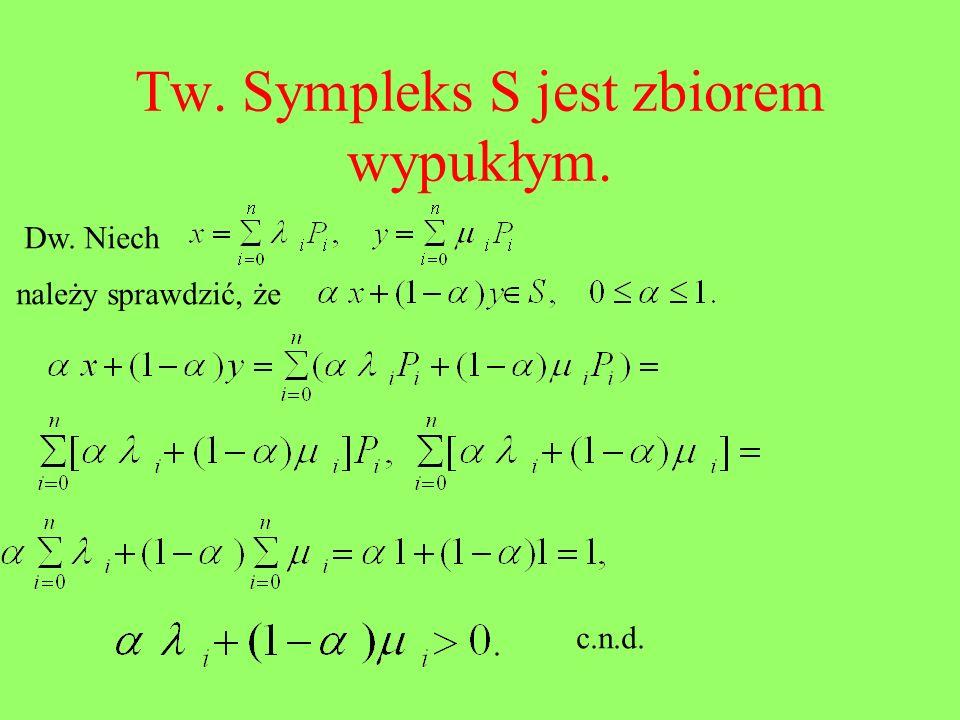 Uwarunkowanie trójkąta Tw.