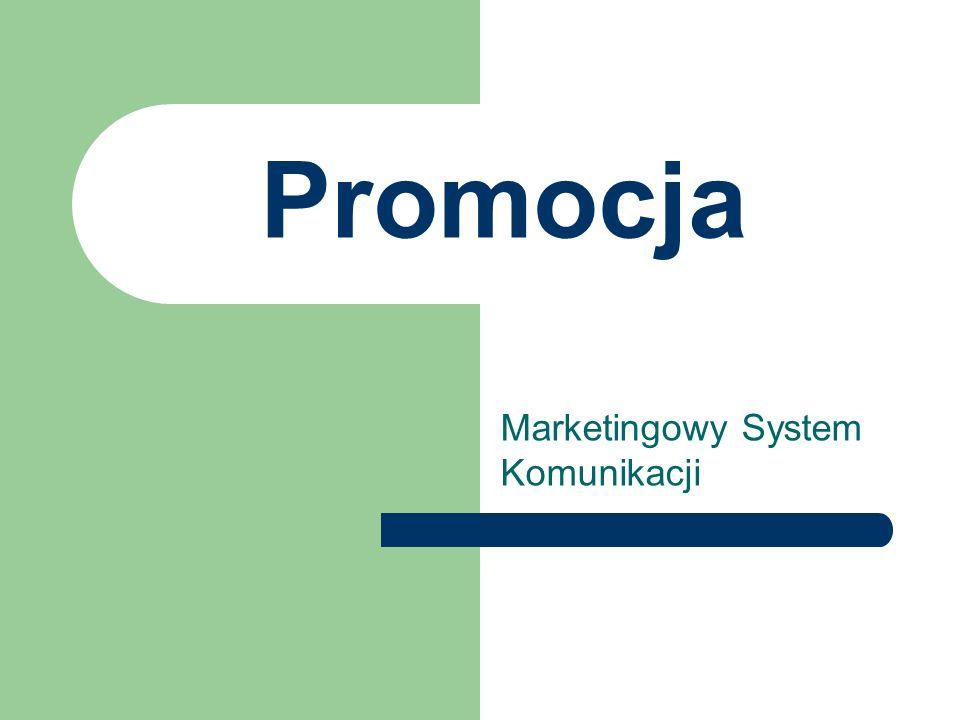 Promocja Marketingowy System Komunikacji