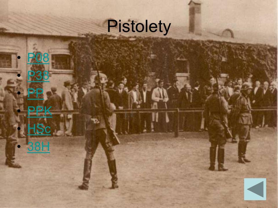 P08 P08 Parabellum - pistolet samopowtarzalny konstrukcji niemieckiej z okresu przed I wojną światową.