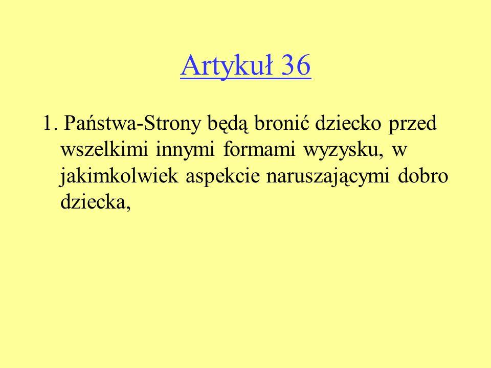 Artykuł 36 1.