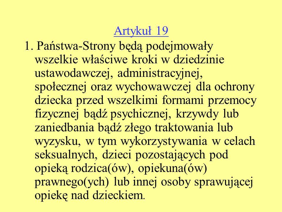 Artykuł 19 1.