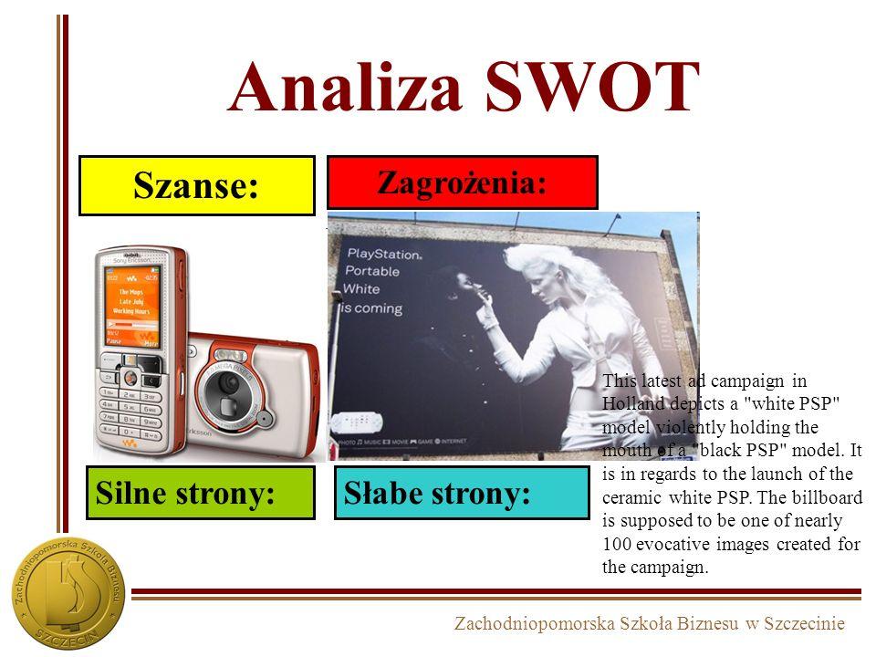 Analiza SWOT Szanse: Zagrożenia: Silne strony:Słabe strony: This latest ad campaign in Holland depicts a
