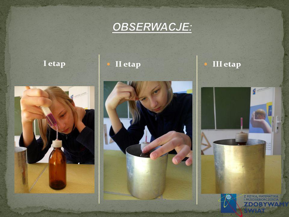 I etap II etap III etap