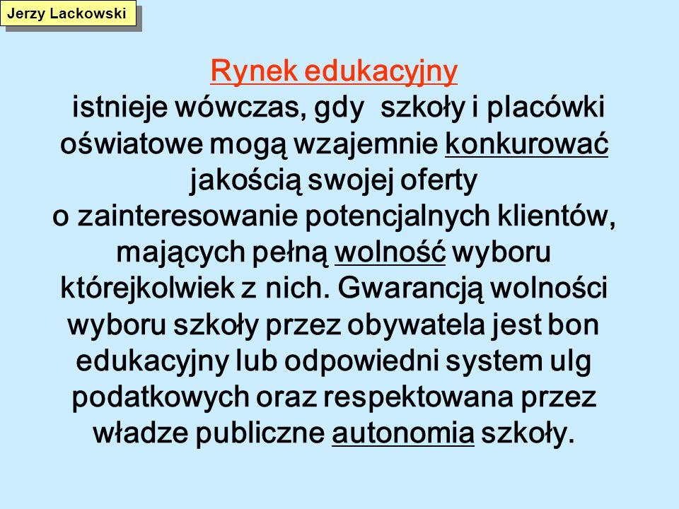 Edukacja w Finlandii Zdecentralizowany system zarządzania Pełna konkurencja szkół na poziomie szkolnictwa średniego II stopnia Silna pozycja dyrektorów szkół i nauczycieli /muszą spełniać wysokie wymagania/ Niezbyt rozbudowany ramowy plan nauczania, bogata oferta zajęć dodatkowych Brak korepetycji Istotna rola nauczycieli wspierających, prowadzących zajęcia wspomagające dla uczniów z kłopotami edukacyjnymi Minimalny zakres społecznych nierówności edukacyjnych.