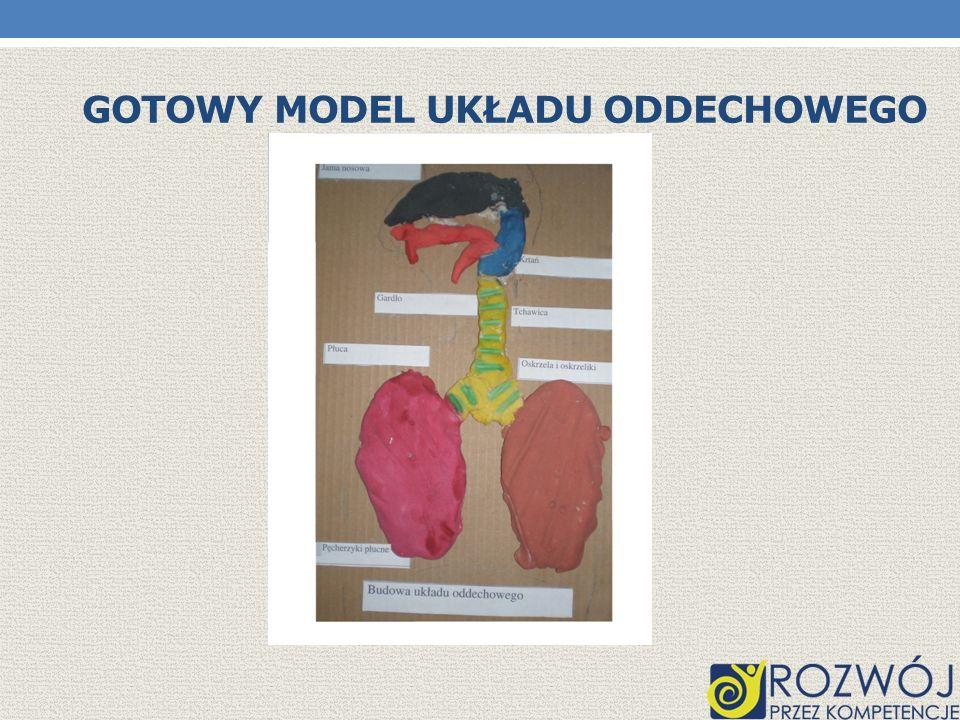 UKŁAD ODDECHOWY Funkcje poszczególnych narządów: