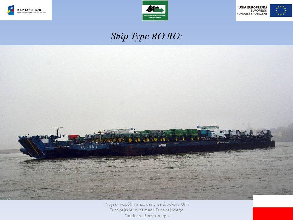 Ship Type RO RO: