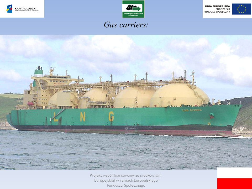 Gas carriers :