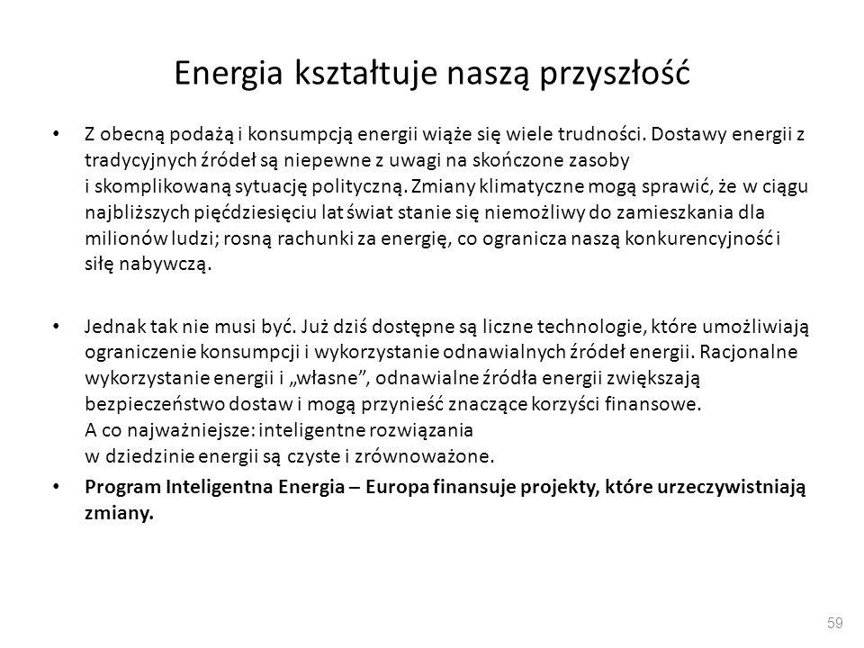 Z obecną podażą i konsumpcją energii wiąże się wiele trudności. Dostawy energii z tradycyjnych źródeł są niepewne z uwagi na skończone zasoby i skompl