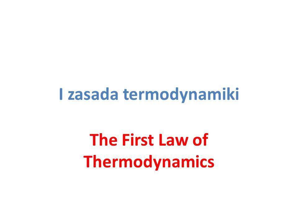 Energia wewnętrzna układu (ciała) Energia chaotycznego ruchu atomów i cząsteczek (ruchu postępowego, obrotów i drgań) - dodatnia Energia oddziaływań między atomami i cząsteczkami (energia potencjalna) - ujemna