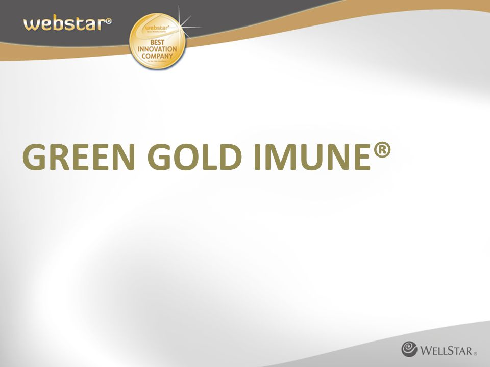 GREEN GOLD IMUNE®