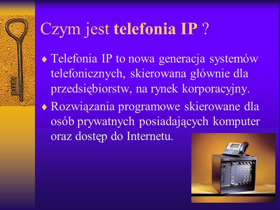 Czym jest telefonia IP .