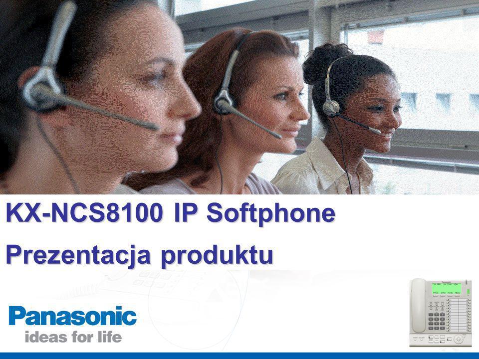 KX-NCS8100 IP Softphone Prezentacja produktu