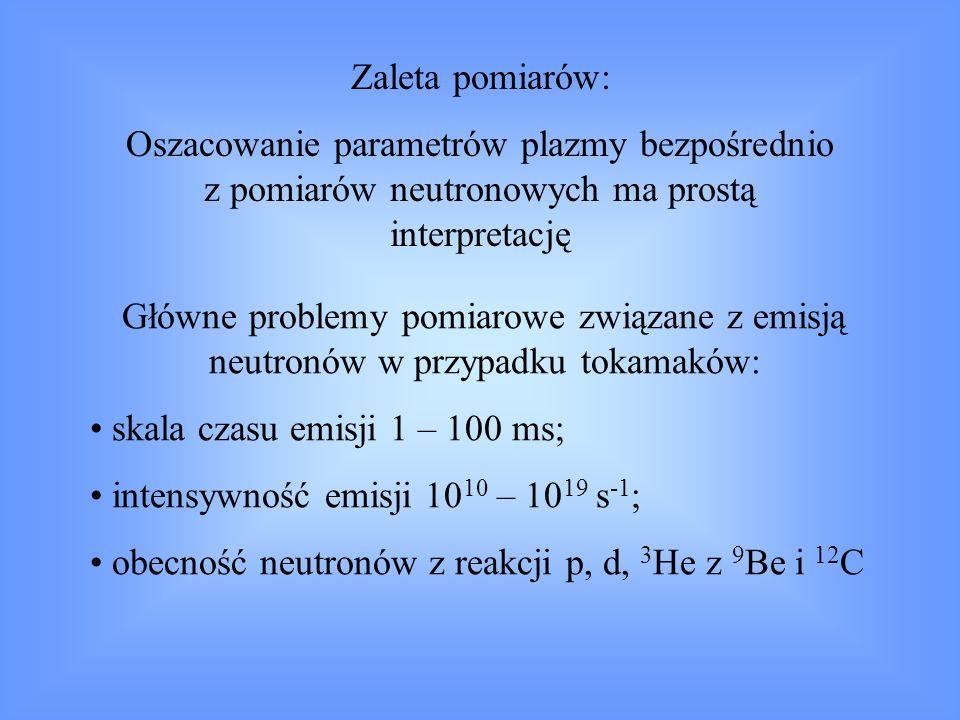 Jak wykorzystujemy wyniki pomiarów emisji neutronów .