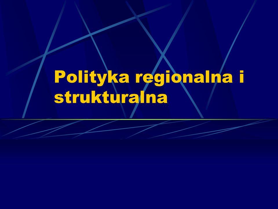 Polityka regionalna i strukturalna