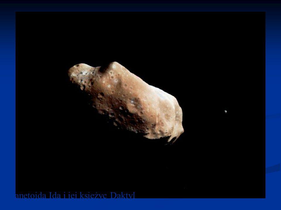 Planetoida Ida i jej księżyc Daktyl