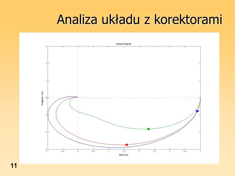 11 Analiza układu z korektorami