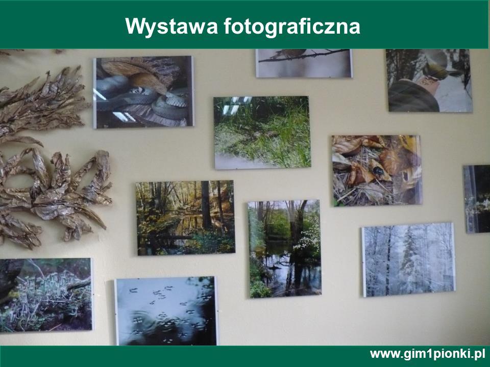 Publiczne Gimnazjum z Oddziałami Integracyjnymi nr 1 im. Jana Kochanowskiego w Pionkach www.gim1pionki.pl Wystawa fotograficzna