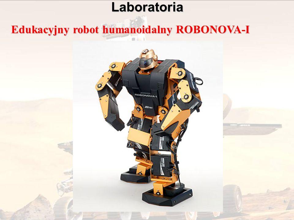 Laboratoria Edukacyjny robot humanoidalny ROBONOVA-I