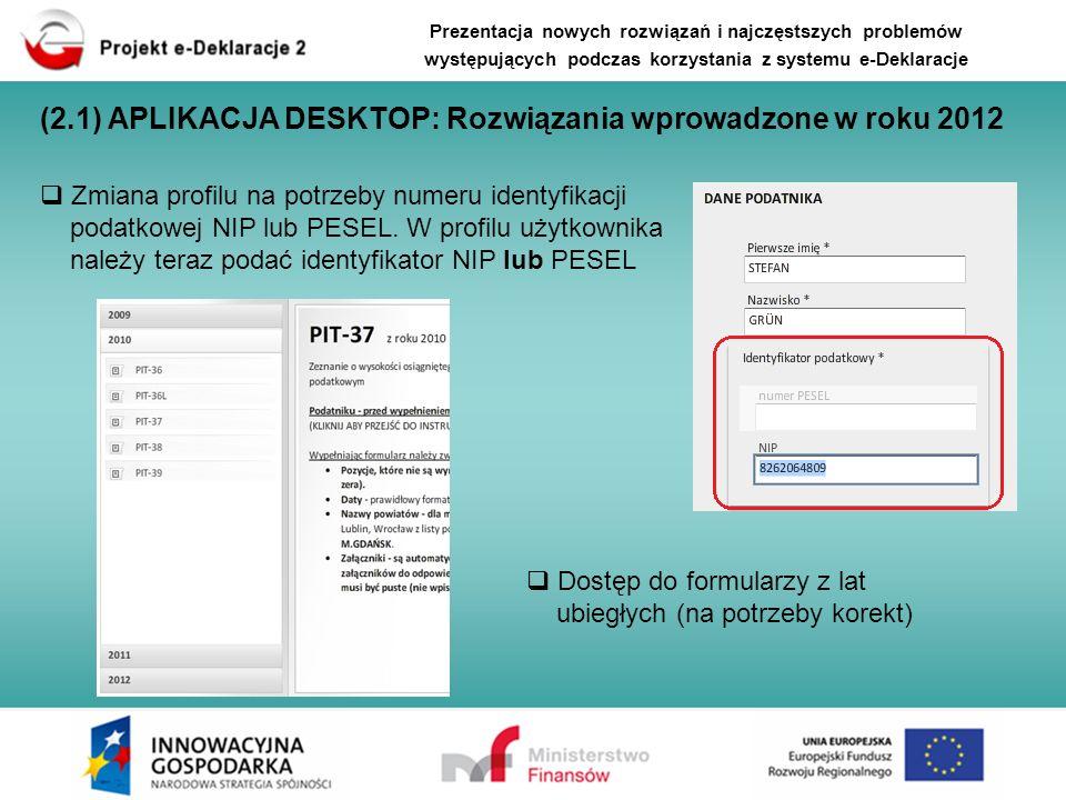 Zmiana profilu na potrzeby numeru identyfikacji podatkowej NIP lub PESEL. W profilu użytkownika należy teraz podać identyfikator NIP lub PESEL Dostęp
