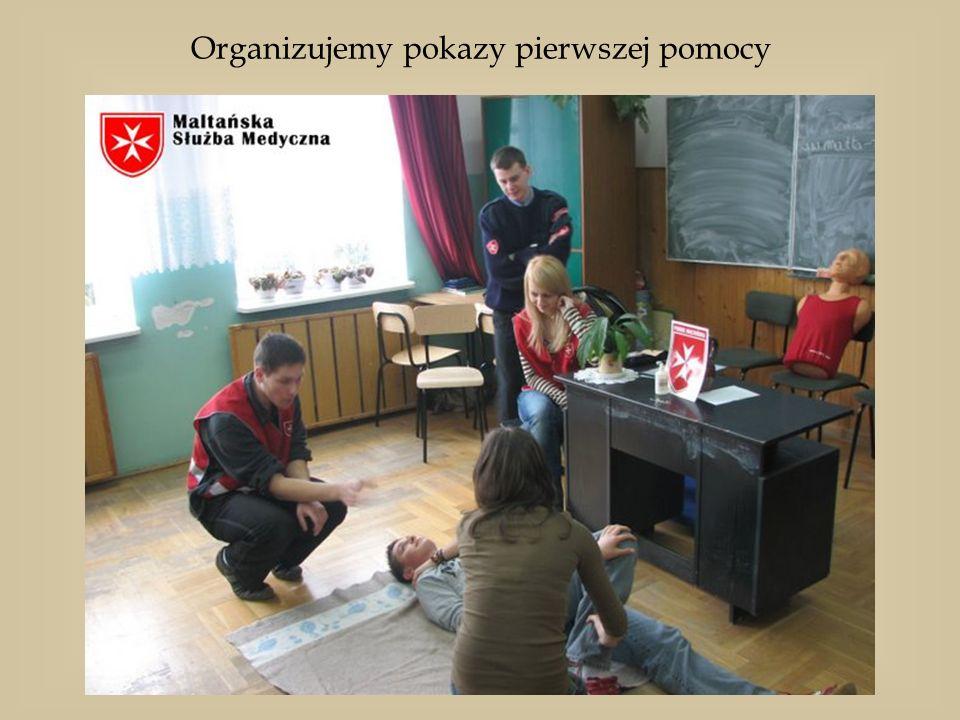 Organizujemy pokazy pierwszej pomocy