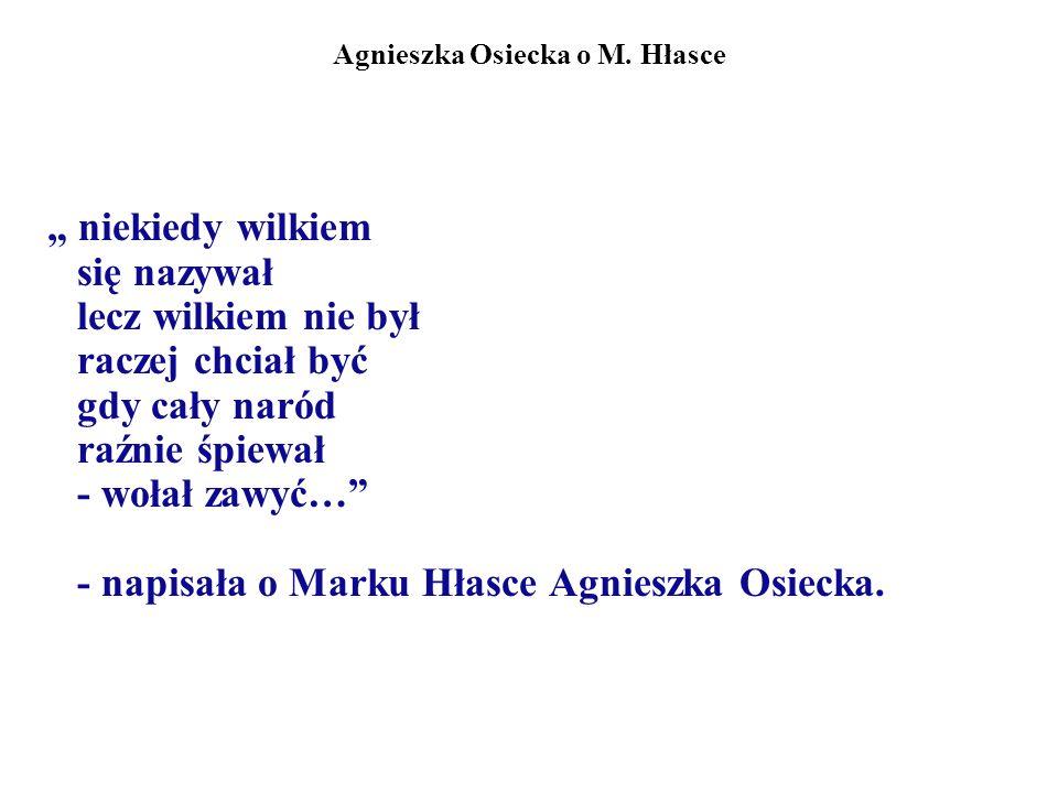 Bohater opowiadań M.Hłaski Podwojony bohater (określenie Burkota): 1.