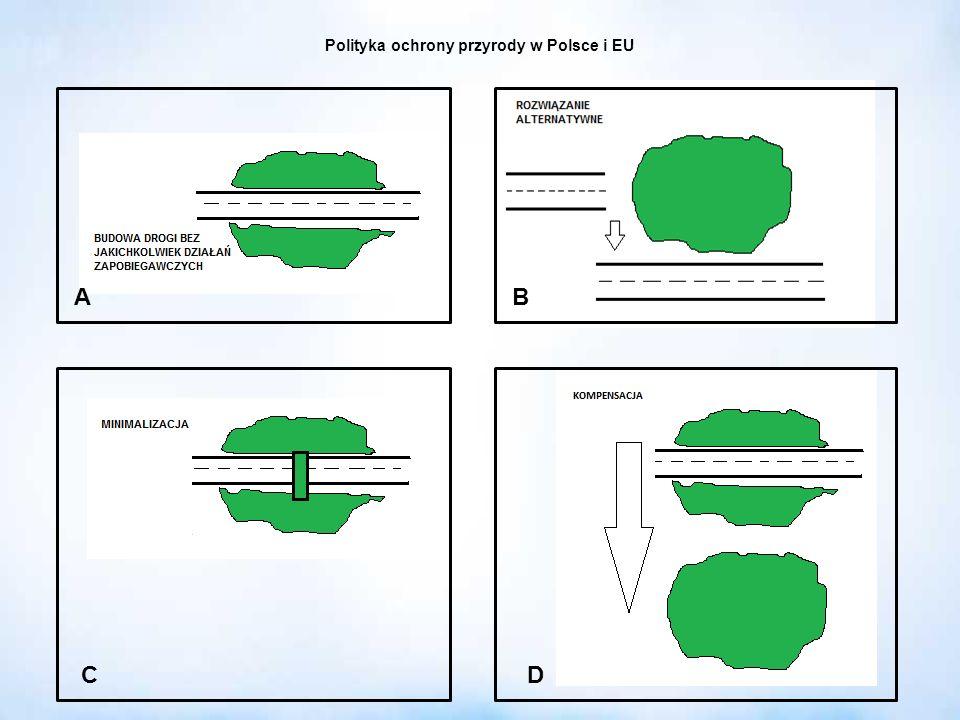 Polityka ochrony przyrody w Polsce i EU AB CD