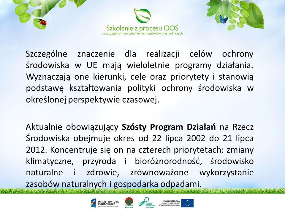 W UE prawo ochrony środowiska to regulacje w prawie pierwotnym (traktatowym) i wtórnym. Geneza ochrony środowiska w UE sięga lat 70-tych, natomiast pi