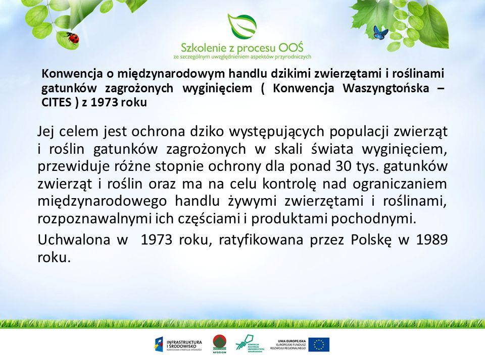 Konwencja o obszarach wodno-błotnych mających znaczenie międzynarodowe, zwłaszcza jako środowisko życiowe ptactwa wodnego, sporządzona w Ramsarze dnia