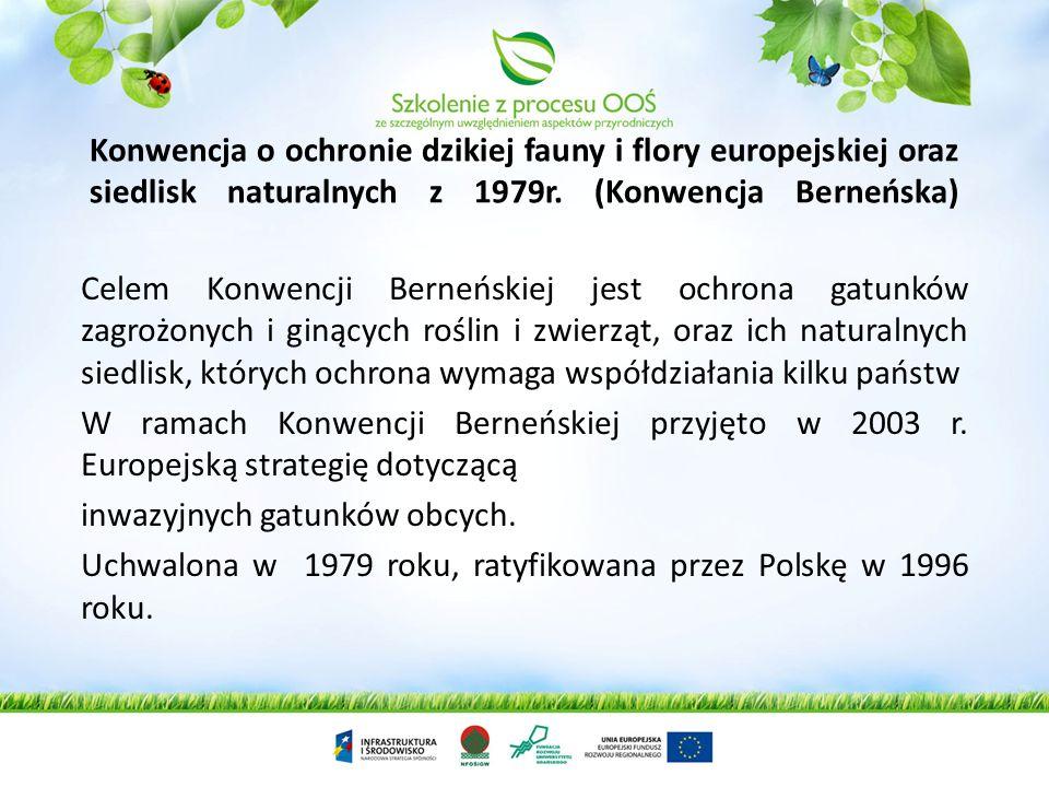 Konwencja o ochronie środowiska morskiego obszaru Morza Bałtyckiego z 1974 roku (Konwencja Helsińska – HELCOM) Konwencja określa założenia kompleksowe
