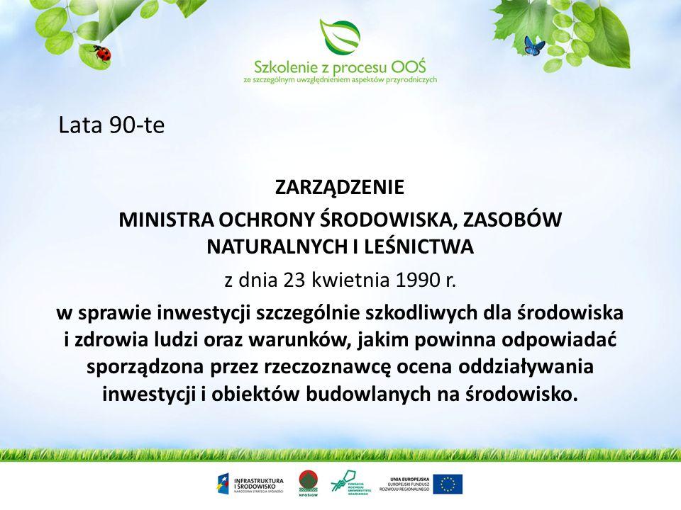 Rozporządzenia Rady Ministrów dnia 23 stycznia 1987 r. w sprawie szczegółowych zasad ochrony powierzchni ziemi. § 11. 1. Organ administracji państwowe