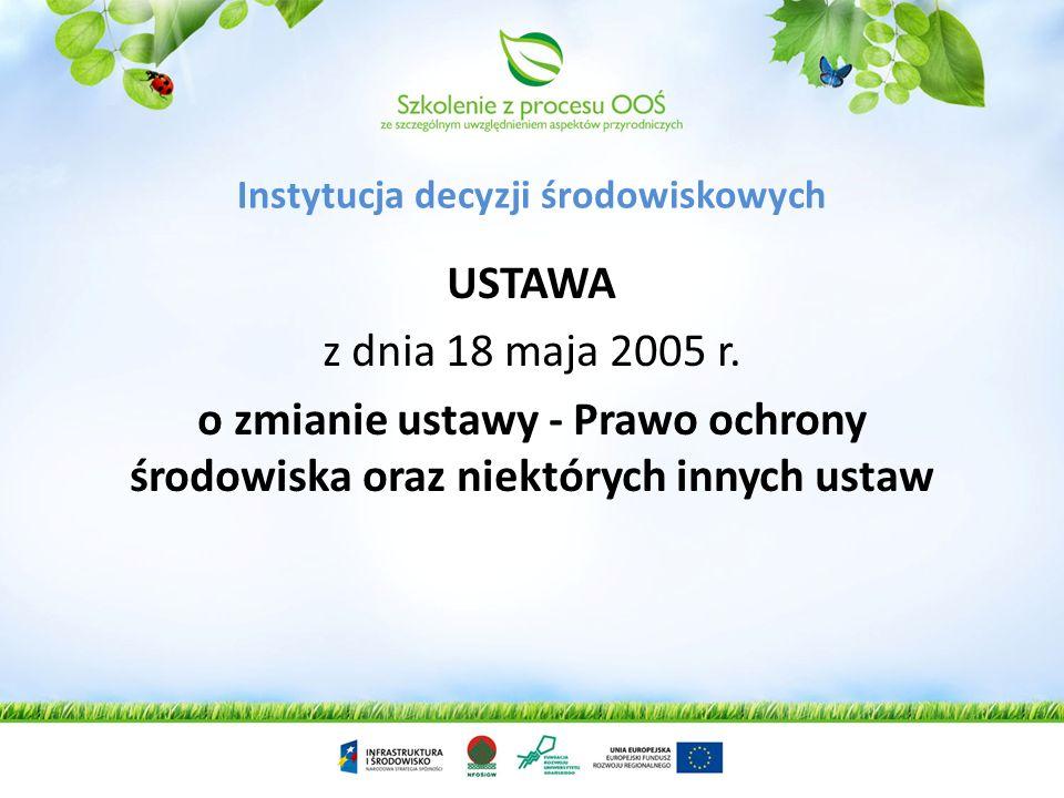 ROZPORZĄDZENIE RADY MINISTRÓW z dnia 9 listopada 2004 r. w sprawie określenia rodzajów przedsięwzięć mogących znacząco oddziaływać na środowisko oraz