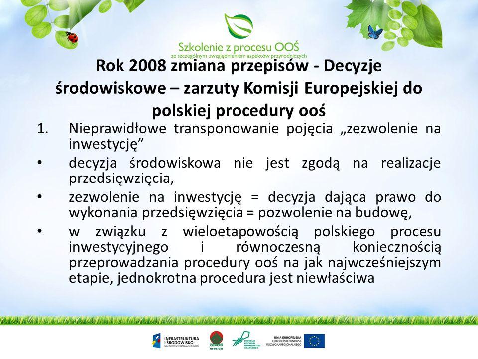 Instytucja decyzji środowiskowych USTAWA z dnia 18 maja 2005 r. o zmianie ustawy - Prawo ochrony środowiska oraz niektórych innych ustaw