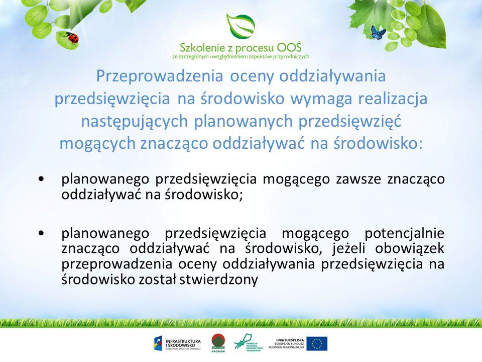 Efekty przeprowadzonej SOOŚ Uwzględnienie w ostatecznej wersji projektu planu lub programu wniosków z prognozy, opinii organu ochrony środowiska i ins