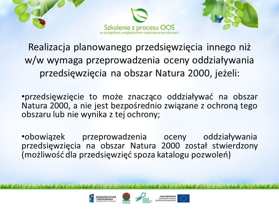 Katalog przedsięwzięć mogących znacząco oddziaływać na środowisko Rozporządzenie Rady Ministrów z dnia 9 listopada 2010 r. w sprawie przedsięwzięć mog