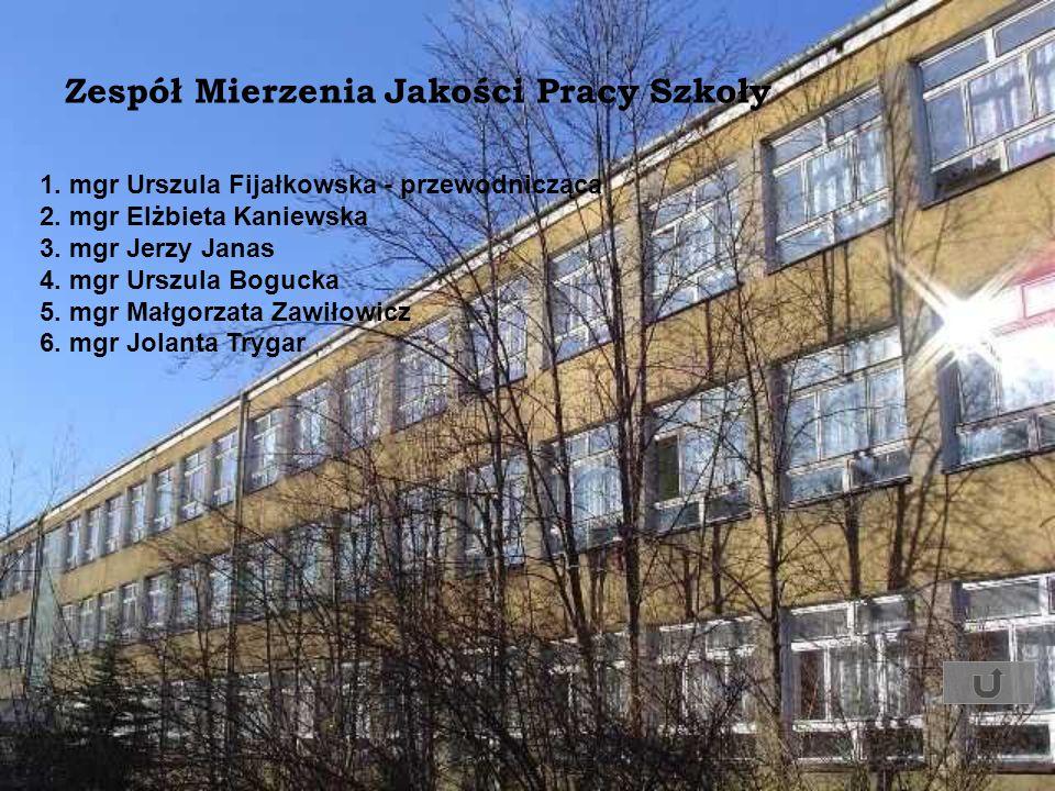 1. mgr Urszula Fijałkowska - przewodnicząca 2. mgr Elżbieta Kaniewska 3. mgr Jerzy Janas 4. mgr Urszula Bogucka 5. mgr Małgorzata Zawiłowicz 6. mgr Jo
