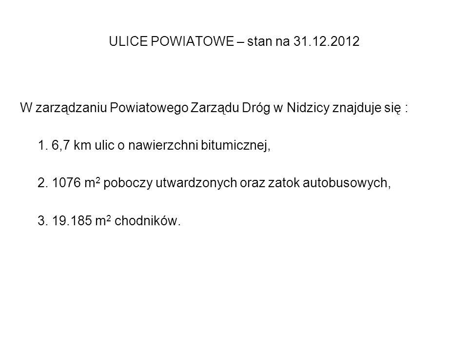 Remont odcinka drogi pow. nr 1932N w m. ryki - Borkowo wartość remontu-4.982,73 zł