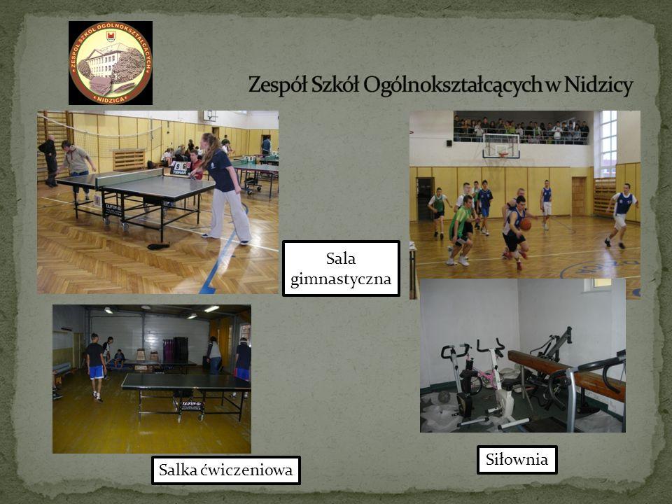Sala gimnastyczna Salka ćwiczeniowa Siłownia