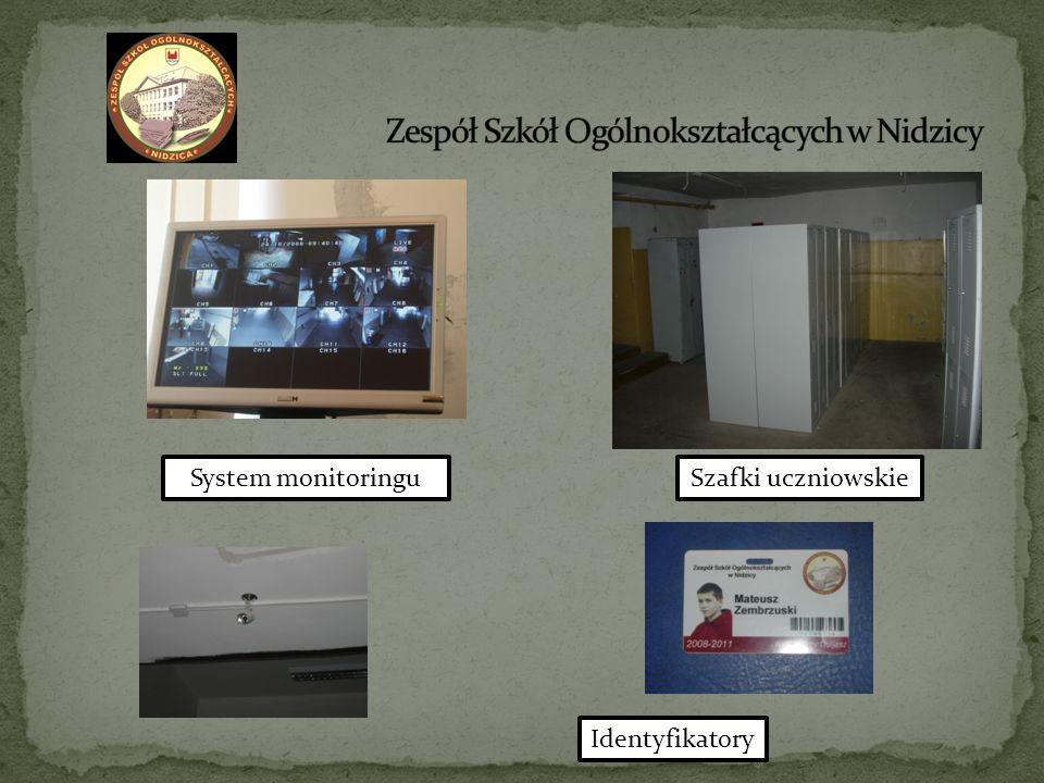 System monitoringuSzafki uczniowskie Identyfikatory